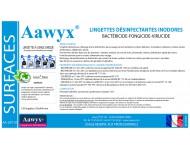 Lingette désinfectante inodore 162 x 400