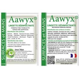 Lingette Désinfectante Parfumée 1000 pochettes