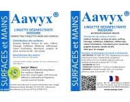Lingette Désinfectante Inodore en pochette